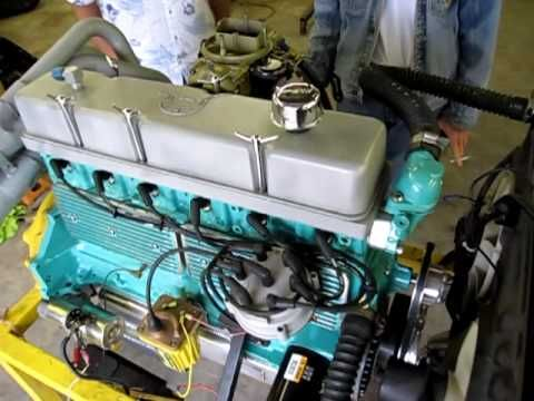Hot Rod 292 six cylinder YouTube inline 6 Chevy