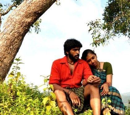 Lakshmi Menon and Vikram Prabhu in Kumki Movie