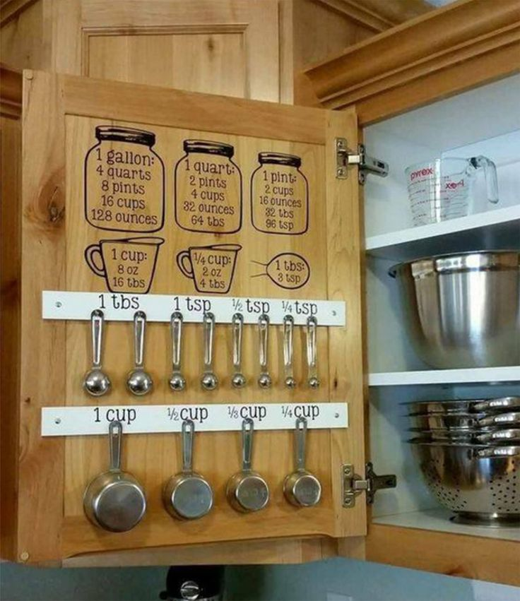 Great idea for baking station.
