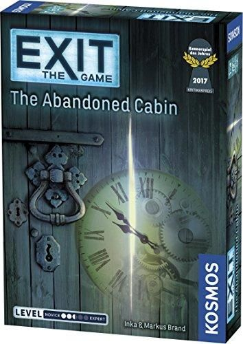 The Abandoned Cabin Game (Exit Room Kit)