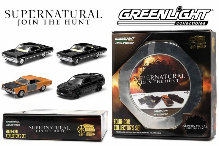 Greenlight Collectibles Film Reels Series 2 - Supernatural – Modelmatic