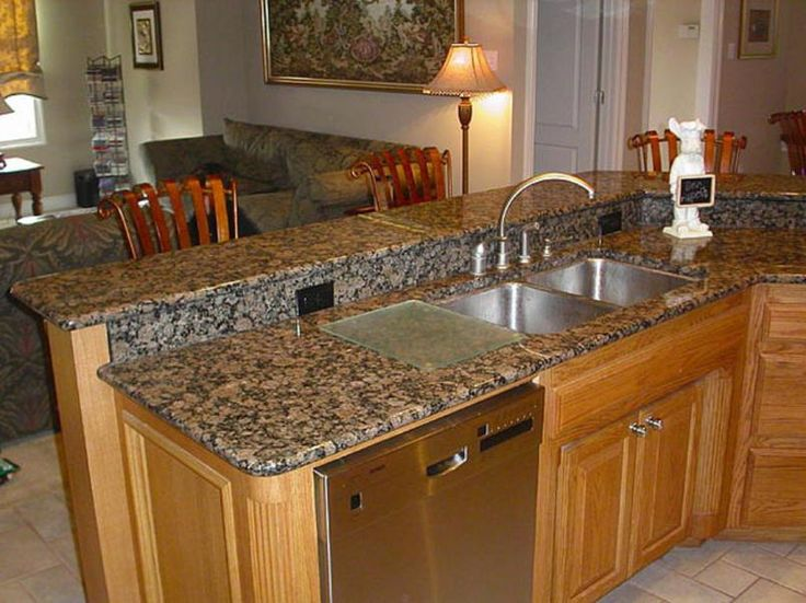 17 best images about granite kitchen counter tops on for Kitchen set granit hitam