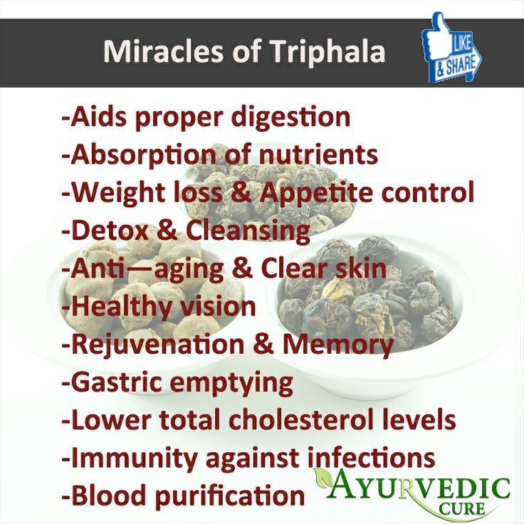 Triphala and white blood cells