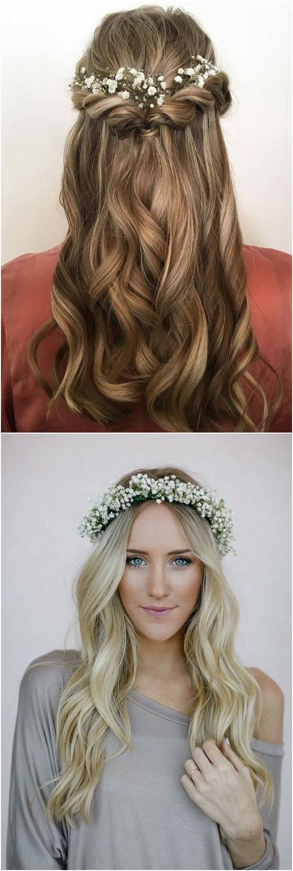 long wedding hairstyles with babies breathe #babies #styles #wedding #lange