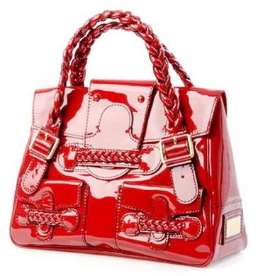 red handbags