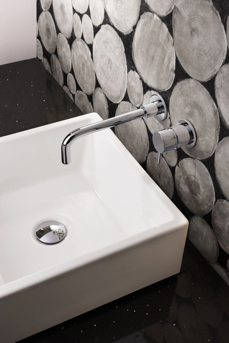 Mike Pro Wall Mounted Bathroom Basin Tap In Chrome Http://www.crosswater