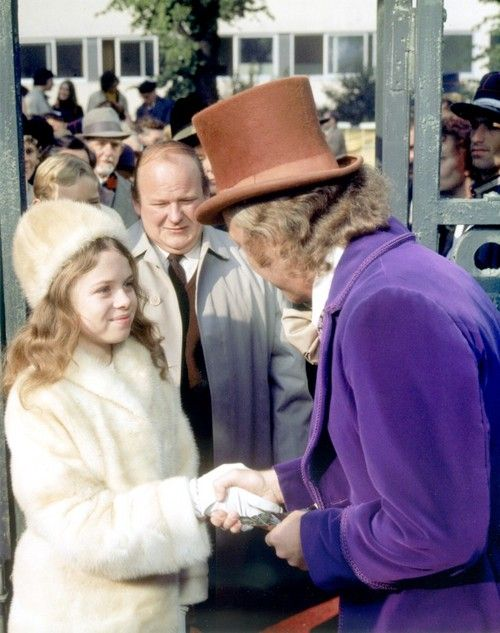 willy wonka and the chocolate factory... Didnt everybody wish his or her daughter acted like the infamous Veruca Salt