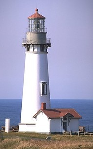 Yaquina Head Lighthouse (Newport, Oregon) was completed in 1873.