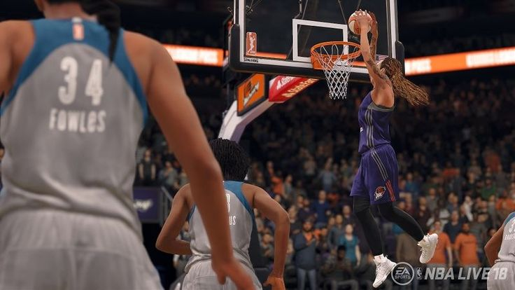 Women's Basketball Video Games - WNBA Teams Will Appear in NBA Live 18