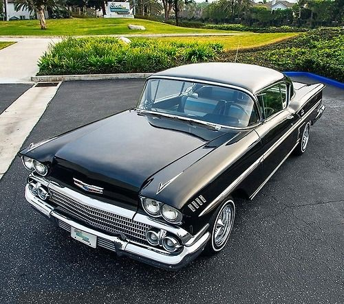 '58 Chevy Impala - The first car I ever owned. It was the first year for the Impala. I sold it to my best friend, took the money and used for it for a down payment on my first 1967 shelby G.T. 500.