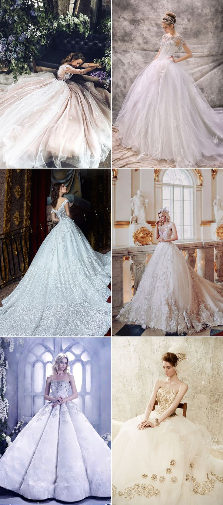 Princess Gowns. Best Images About Wedding Dresses On Pinterest ...