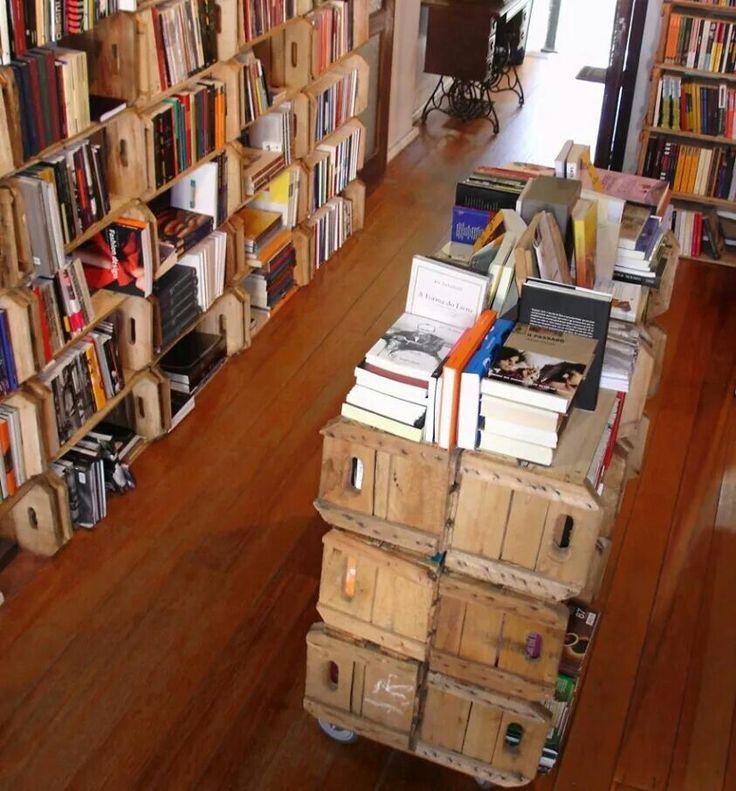 pingl par l 39 art de la caisse sur caisse biblioth que id es pinterest caisse. Black Bedroom Furniture Sets. Home Design Ideas