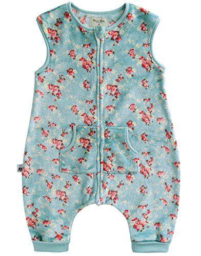 Vaenait Baby 17Y Ultra Plush Fleece Kids Girls Wearable Blanket Sleeper Flower Mint S