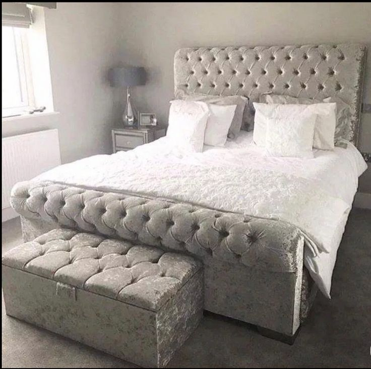 Pin on Chesterfield Sleigh Bed