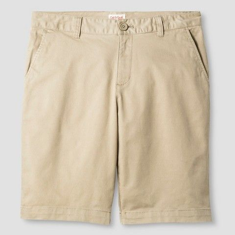 Juniors' Stretch Twill Bermuda Short - Cat & Jack