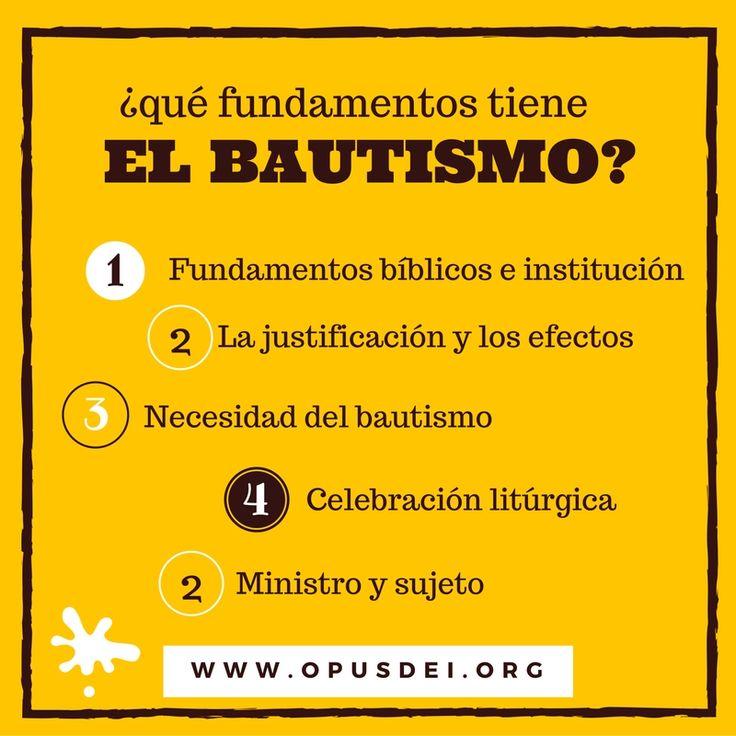 Una explicación del sacramento del Bautismo en cinco pasos.