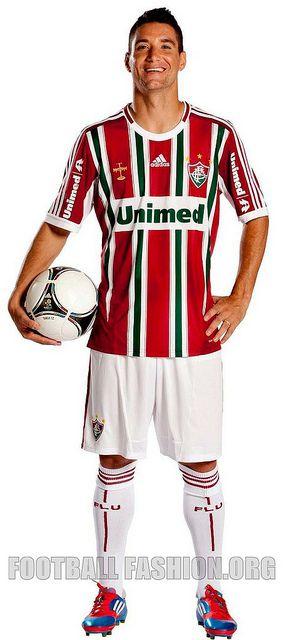 Fluminense FC adidas 2012 Home and Away Kits