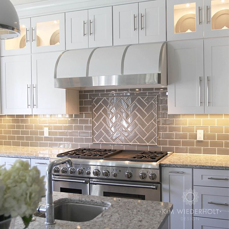 [+] Backsplash Tile Ideas In Gray Kitchen