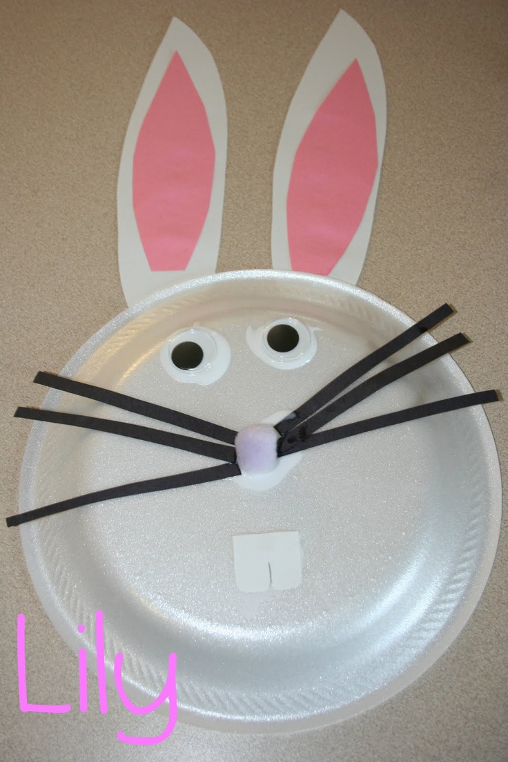 paper plate Bunny!