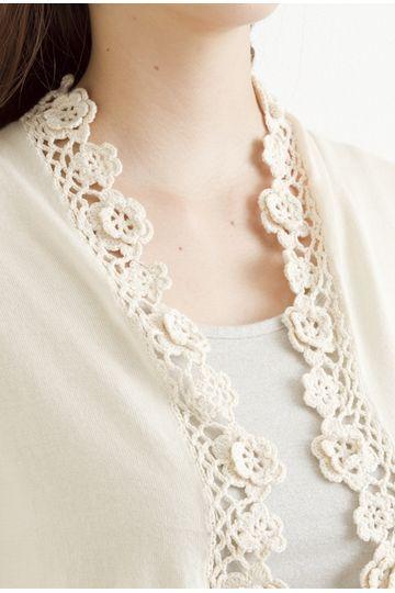 crochet edging top