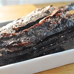 Jerky Lover's Jerky - Sweet, Hot and Spicy! I'd like to try this one with wild game.
