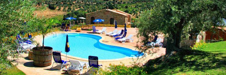 Poggio Pozzetti Turismo Rurale Sicily #holiday #nature #design #sicily #country #shabby