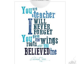 Thank You Teacher Quotes Best 25 Teacher Thank You Quotes Ideas On Pinterest  Thank You .