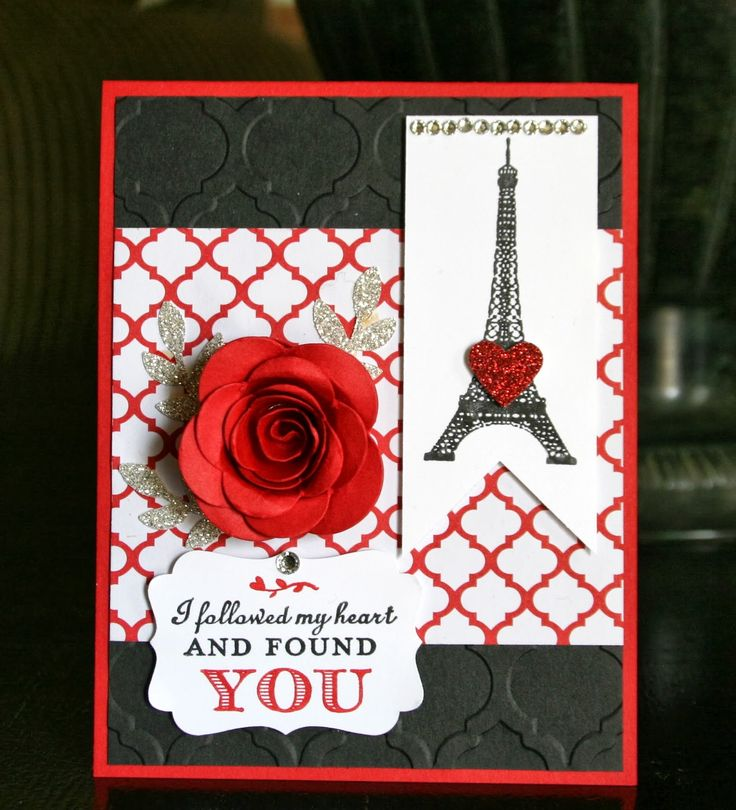Stampin' Up! Valentine by Krystal's Cards and More: Follow Your Heart