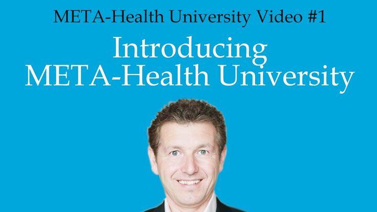 META Health University #1 Intro META Health University