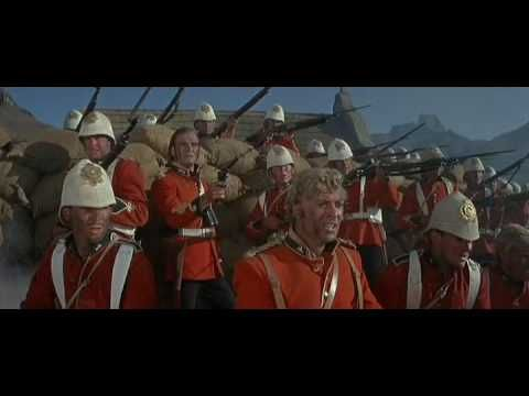 Final battle in 1964's Zulu staring Stanley Baker and Michael Cain