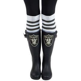 Women's Cuce Oakland Raiders Frontrunner Rain Boots