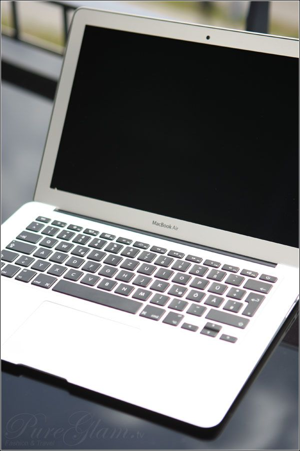 Macbook Air – the easiest way for blogging on the road – finally