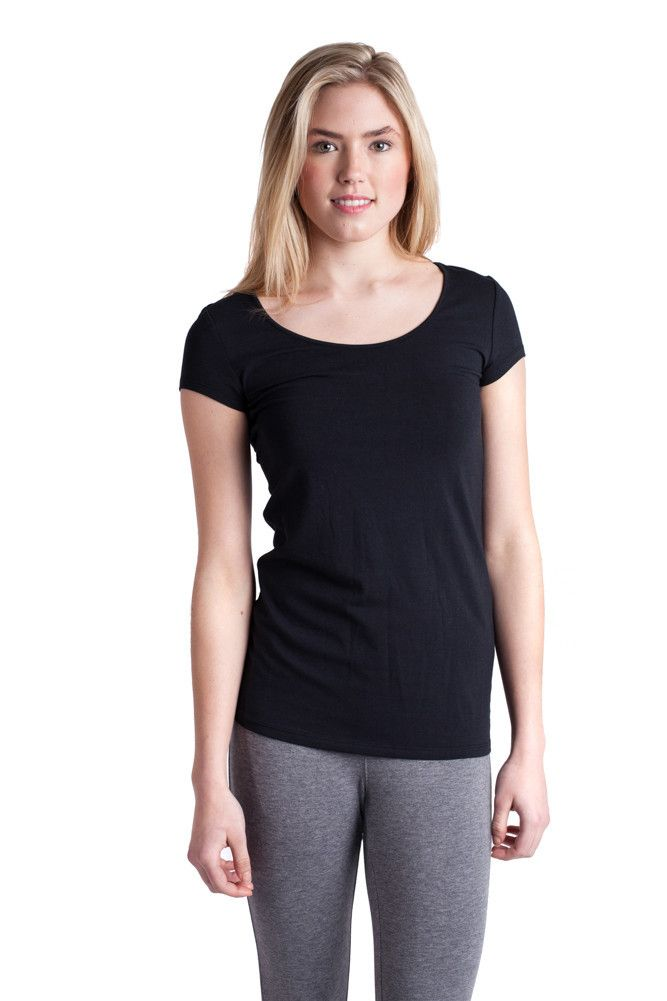 Marsa Tee. Eco Friendly Deluxe Soft Touch Bamboo Essential Tee #tee