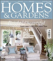 Homes and Gardens February 2011