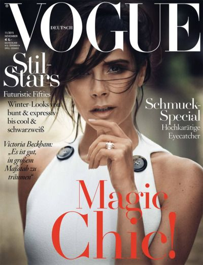 Victoria Beckham for Vogue Germany November 2015