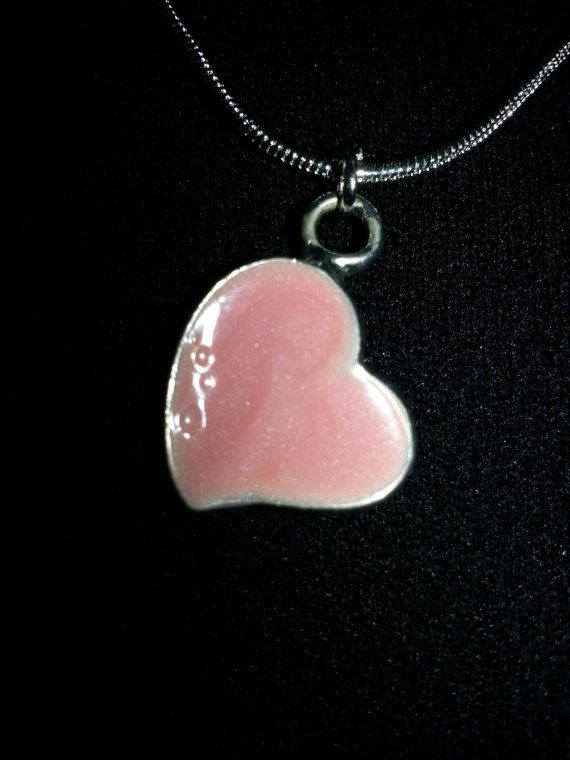 The Pink Heart by FussandFinery on Etsy