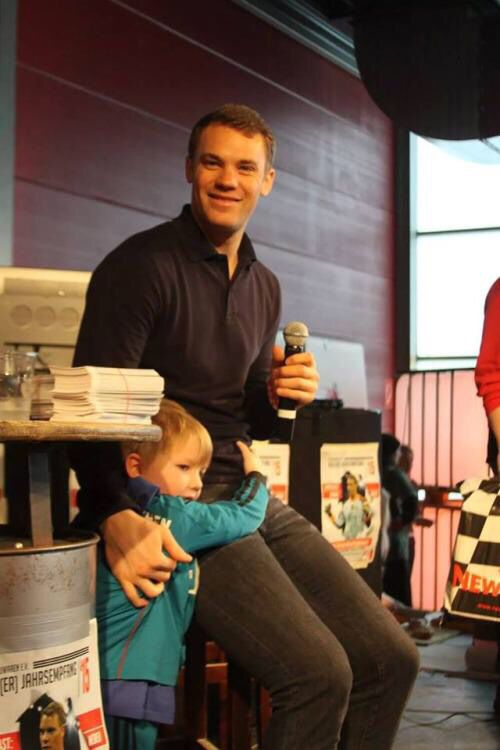 Manuel Neuer is simply awesome in every way