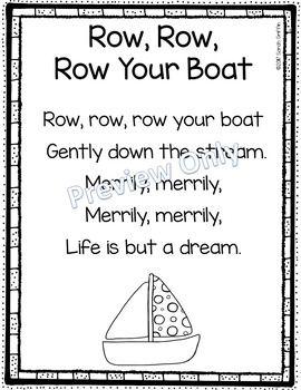how to write a nursery rhyme poem