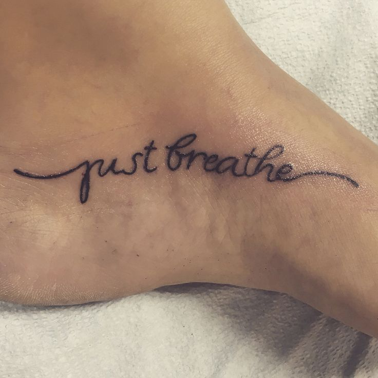 Just Breathe Tattoo Quotes Image Quotes At Hippoquotes Com: 25+ Best Ideas About Just Breathe Tattoo On Pinterest