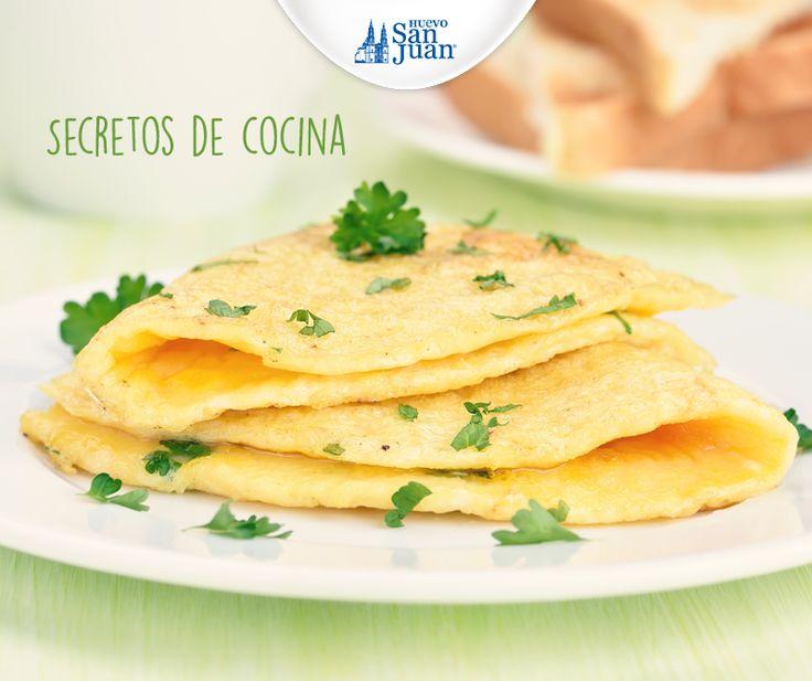Tipcocina para cocinar un omelette y obtener todos los for Cocinar yemas de huevo