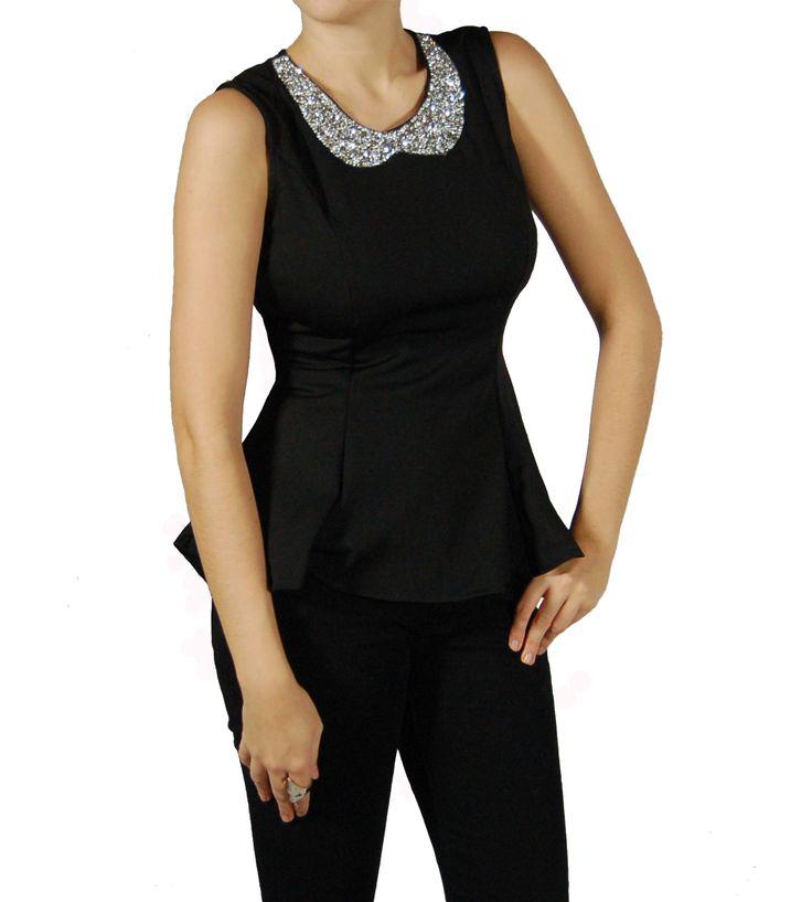 33 best images about tops tendance femme chemisiers blouses v tements mode on pinterest. Black Bedroom Furniture Sets. Home Design Ideas