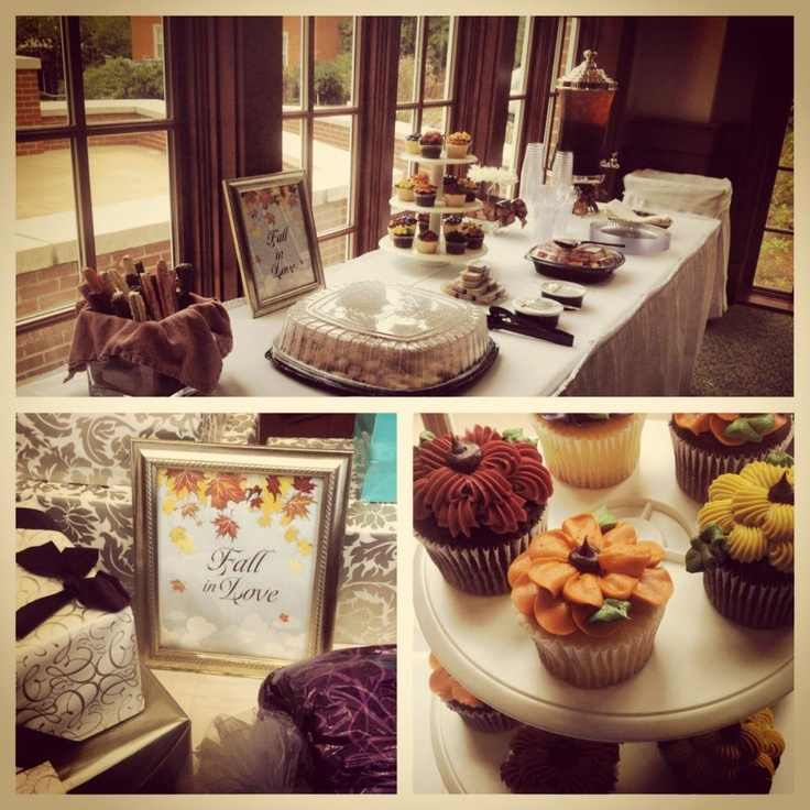 17 Best Images About FALL IN LOVE Bridal Shower Ideas On Pinterest