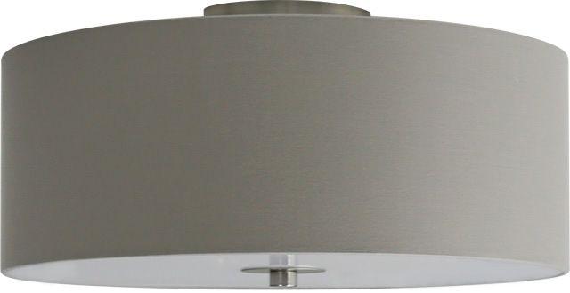 Candice 400mm 3 Light Ceiling Shade - Pravda Grey, Ceiling Lights, Semi-Flush Lighting, New Zealand's Leading Online Lighting Store