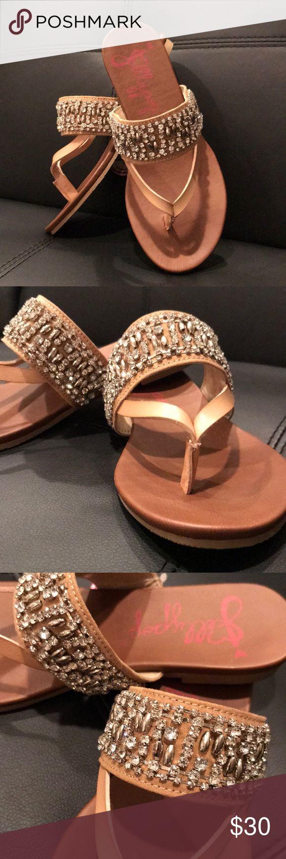 Rhinestone-Studded Sandals Rhinestone-Studded Sandals Jellypop Shoes Sandals