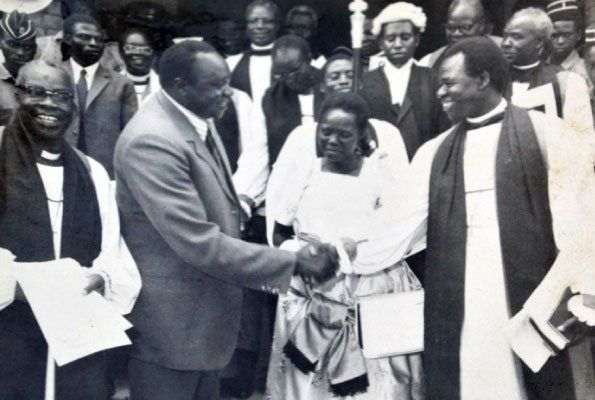 The archbishop was accused of being an agent of the exiled former president Milton Obote, and for planning to stage a coup by Idi Amin