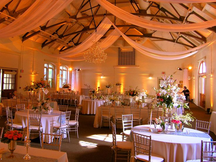 Reception inside The Hunnewell Carriage House | Elm Bank ...