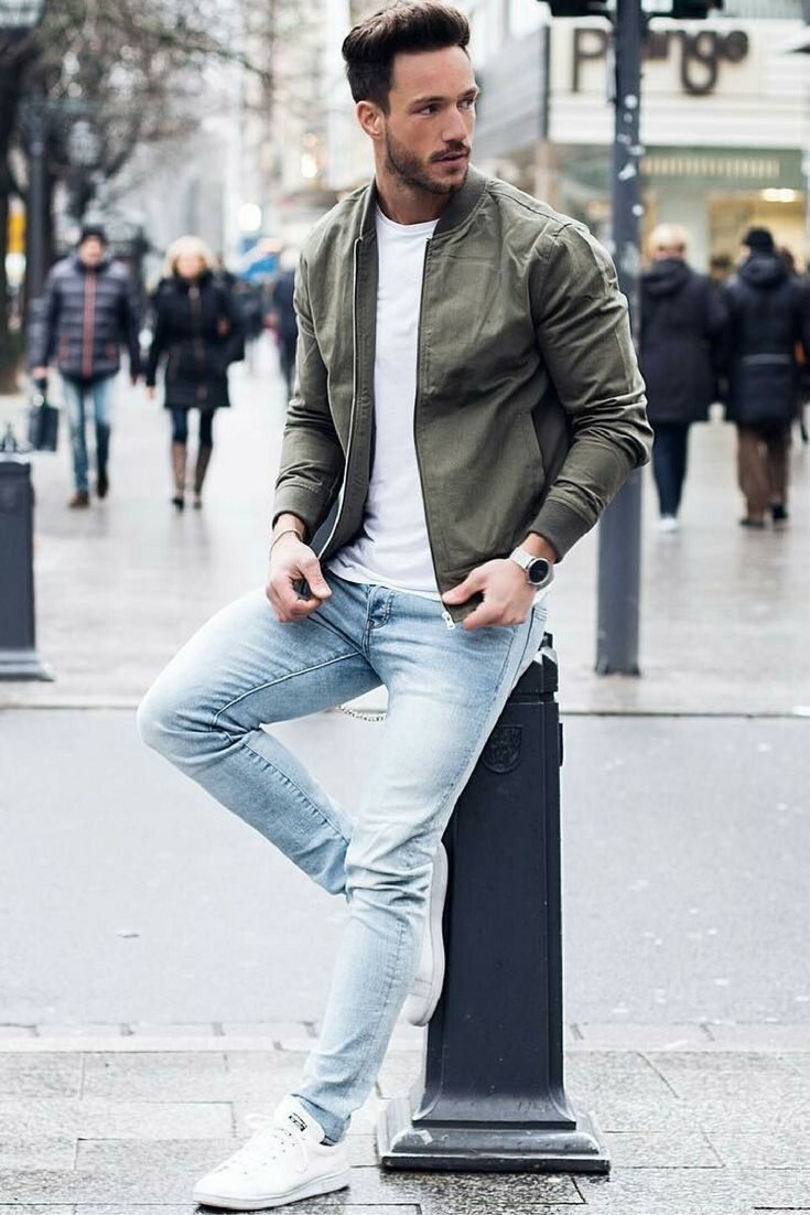 how to wear a leather jacket for rmen #memsfashion #style