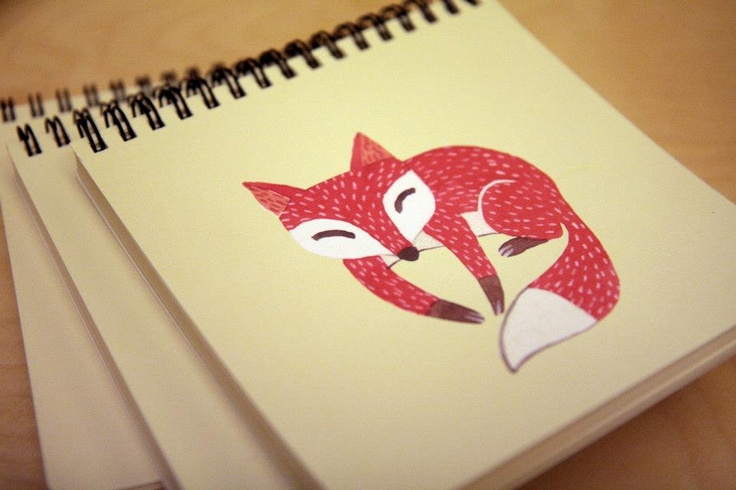 Oana Befort drawing for ROD notebook