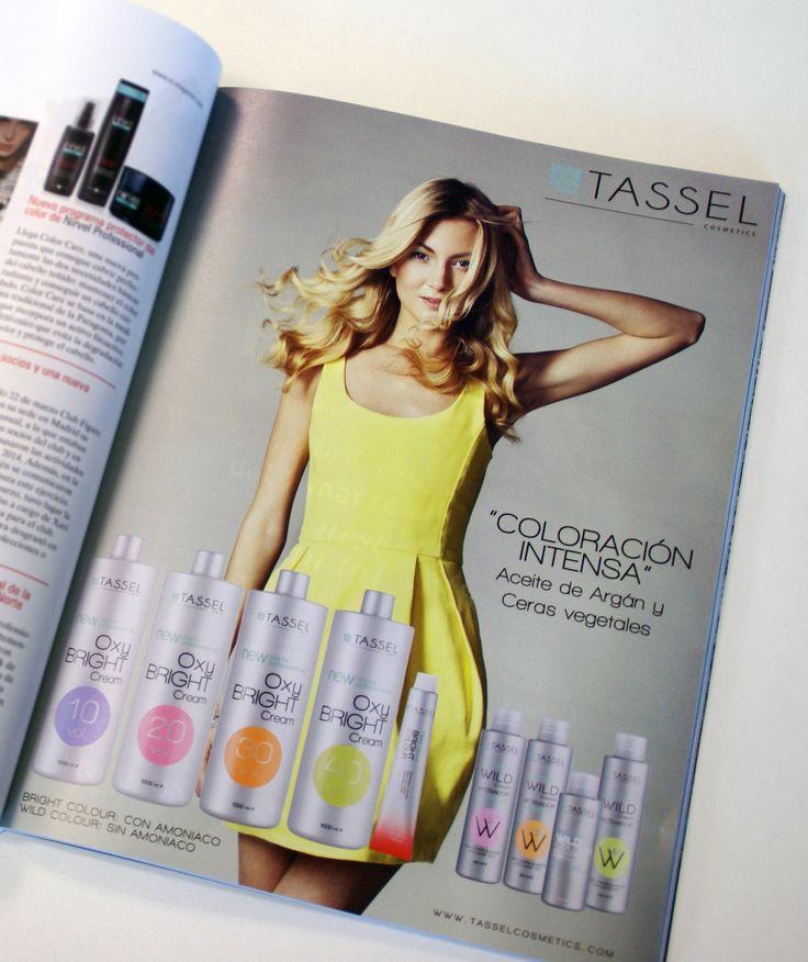 Tintes CON y SIN Amoniaco de TASSEL Cosmetics. Con aceites vegetales que nutren tu cabello. #TasselCosmetics #Tassel