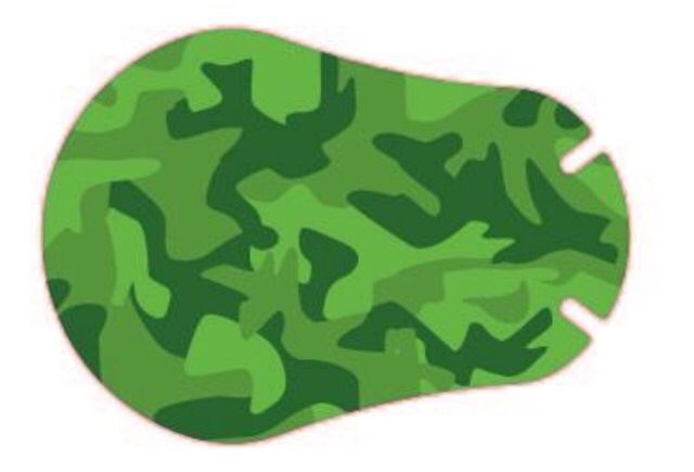 """Parche """"Green Camouflage"""""""